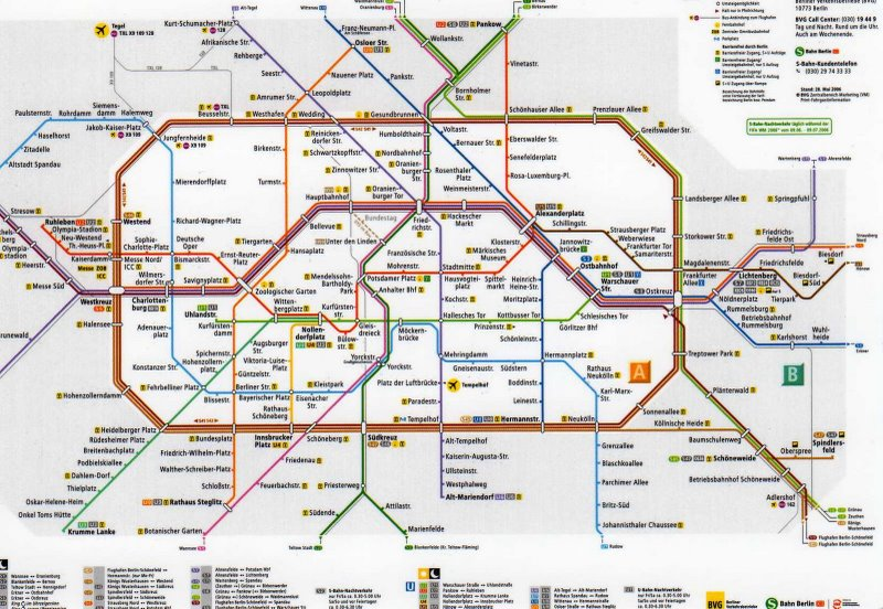 Download : Berlin Metro Map ...